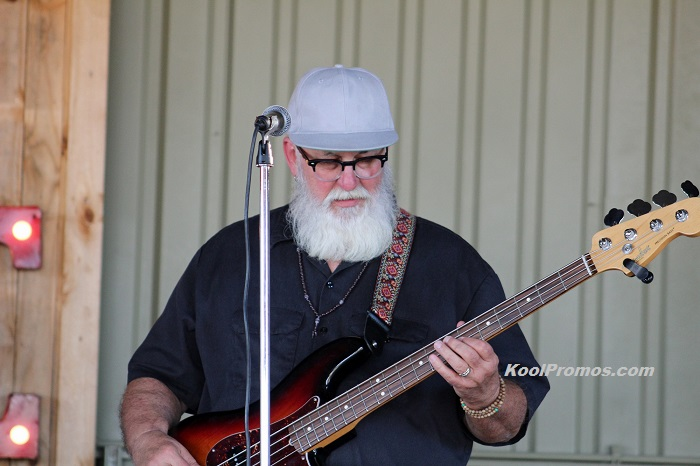 Fender Bender Bass Player Mike Brown